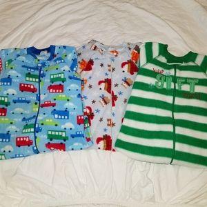 ❤SALE! CHILDREN'S PLACE fleece pj bundle